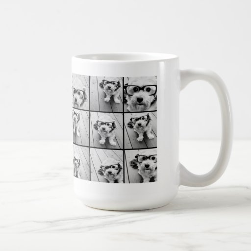 Instagram Photo Collage with 9 square photos Mugs