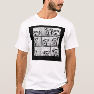 Instagram Photo Collage with 9 square photos T-Shirt