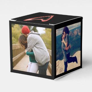 instagram photo wedding favour box