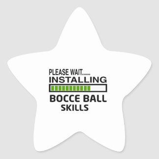 Installing Bocce Ball Skills Star Stickers