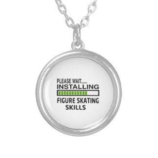 Installing Figure Skating Skills Custom Jewelry