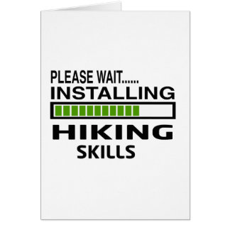 Installing Hiking Skills Card