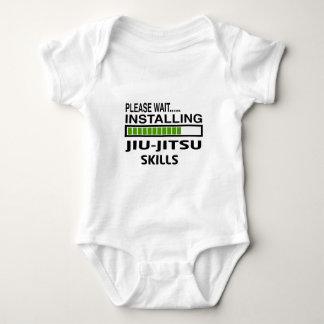 Installing Jiu-Jitsu Skills Baby Bodysuit