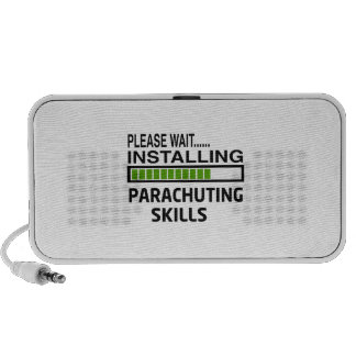 Installing Parachuting Skills iPod Speakers