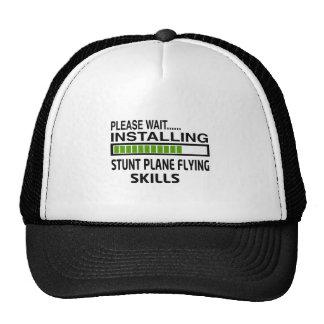 Installing Stunt Plane Flying Skills Hats