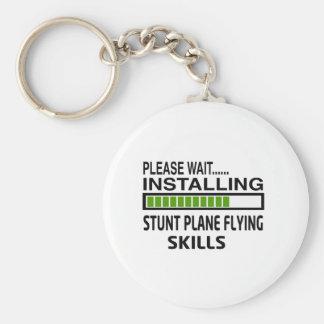 Installing Stunt Plane Flying Skills Key Chain