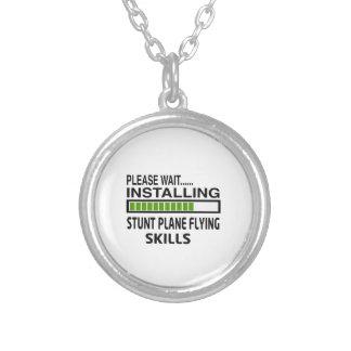 Installing Stunt Plane Flying Skills Custom Jewelry