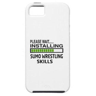 Installing Sumo Wrestling Skills iPhone 5 Case