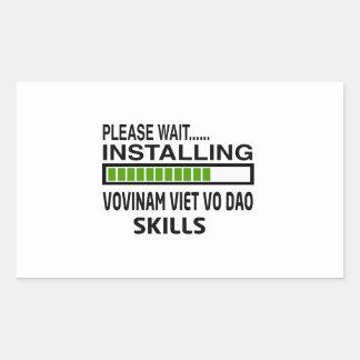 Installing Vovinam Viet vo Dao Skills Stickers