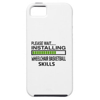 Installing Wheelchair Basketball Skills iPhone 5 Cover