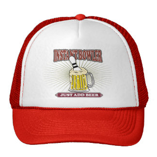 Instant Bowler Just Add Beer Hat