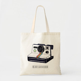 Instant Camera Budget Tote