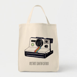 Instant Camera Grocery Tote