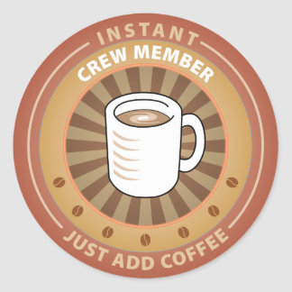 Instant Crew Member Sticker