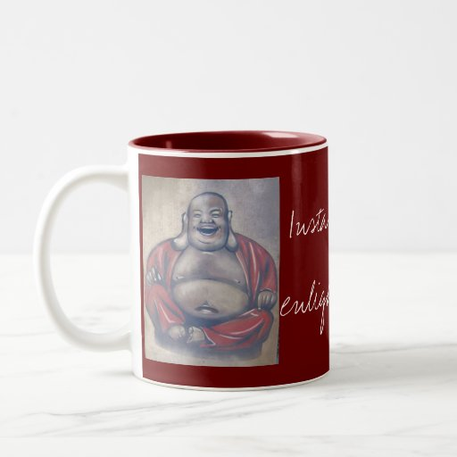 Instant Enlightenment Coffee Cup Mugs