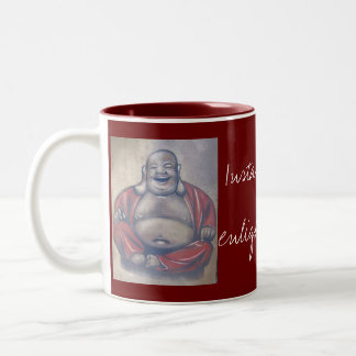 Instant Enlightenment Coffee Cup Two-Tone Mug
