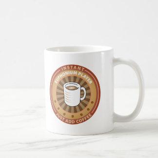 Instant Euphonium Player Coffee Mug