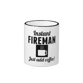 Instant Fireman Just Add Coffee Ringer Mug