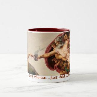 Instant Human Coffee Mugs