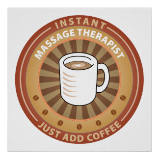 Instant Massage Therapist Poster