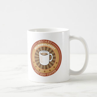 Instant Microbiologist Classic White Coffee Mug