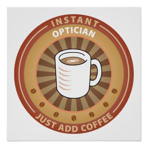 Instant Optician Poster