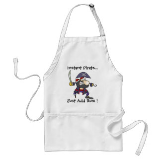 Instant Pirate..., Just Add Rum ! Standard Apron