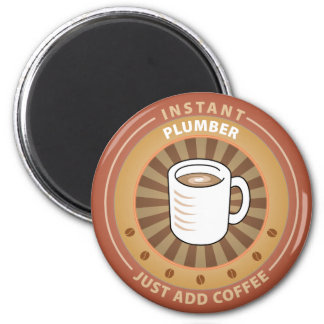 Instant Plumber 6 Cm Round Magnet