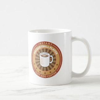 Instant Racquetball Player Coffee Mug