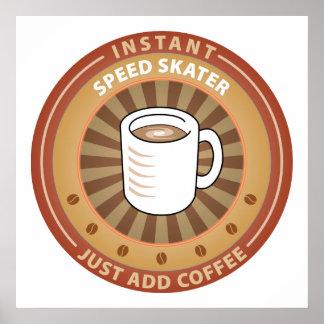 Instant Speed Skater Poster