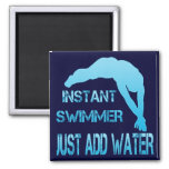 Instant Swimmer Just Add Water Magnets
