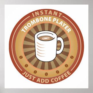 Instant Trombone Player Print