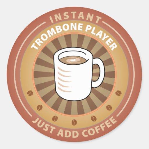 Instant Trombone Player Sticker