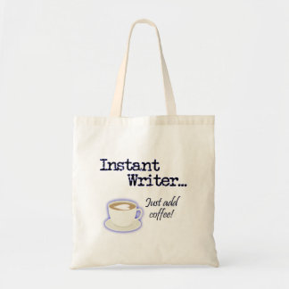 Instant Writer tote Budget Tote Bag