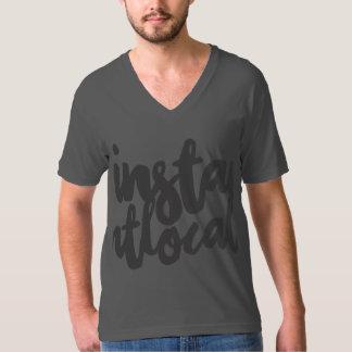 InstantLocal Bold V-kneck T-Shirt