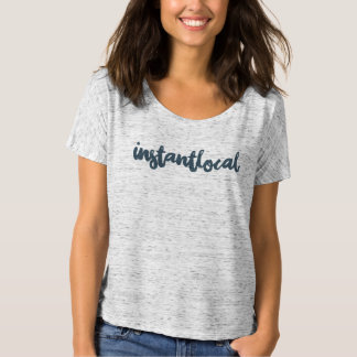 InstantLocal Girl Grey T-Shirt