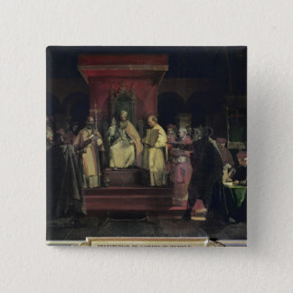 Institution of the Order of the Templars 15 Cm Square Badge