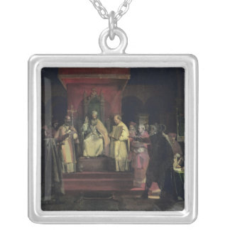 Institution of the Order of the Templars Silver Plated Necklace