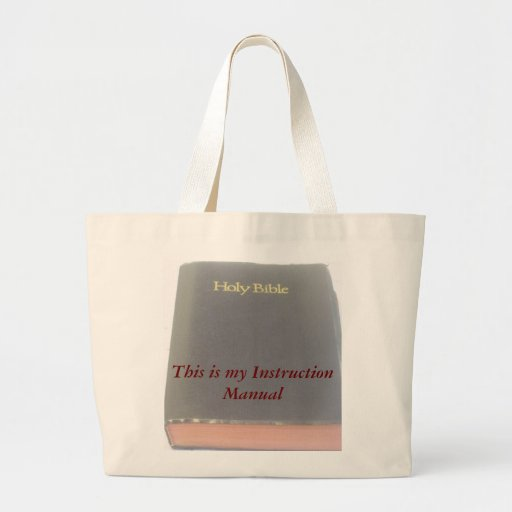 Instruction Manual Tote Bag