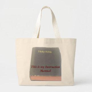 Instruction Manual Jumbo Tote Bag