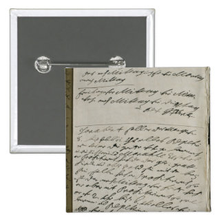Instructions issued by Friedrich Wilhelm I 15 Cm Square Badge