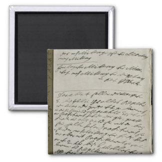 Instructions issued by Friedrich Wilhelm I Fridge Magnet