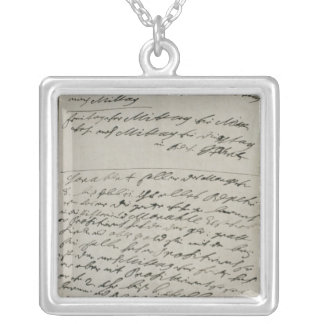 Instructions issued by Friedrich Wilhelm I Silver Plated Necklace