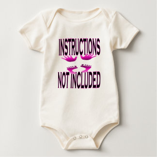 Instructions Not Included - Infant Organic Creeper