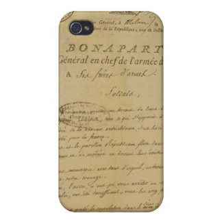 Instructions to soldiers issued by Napoleon Case For iPhone 4