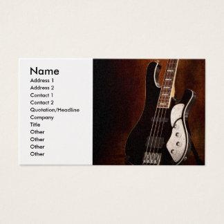 Instrument - Guitar - High strung Business Card