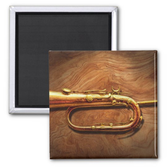 Instrument - Horn - Reveille and Rouse Magnet