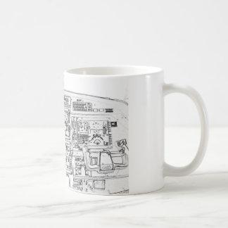 Instrument Panel Coffee Mugs