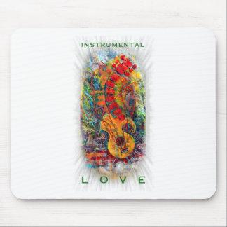 Instrumental Love Design #8 Mouse Mat
