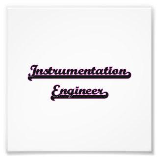 Instrumentation Engineer Classic Job Design Art Photo